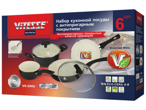 Набор посуды VITESSE VS-2902, вид 6
