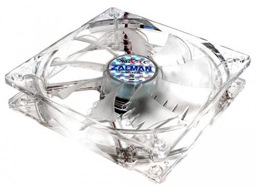 Кулер Zalman ZM-F3 LED, 120мм, 3-pin, синяя подсветка, вид 2