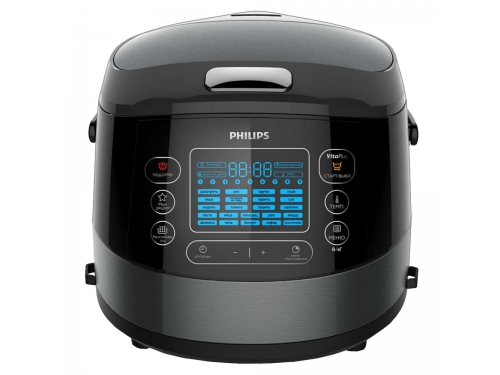 Мультиварка Philips HD4749/03 черная, вид 1