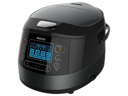 Мультиварка Philips HD4749/03 черная, вид 2