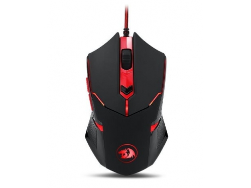 Мышь Defender Redragon Centrophorus Black-Red USB, вид 1
