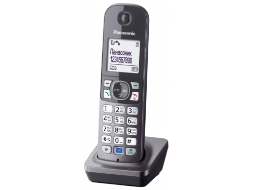 Радиотелефон Panasonic KX-TGA681RUB, вид 3