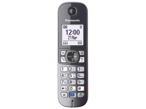 Радиотелефон Panasonic KX-TGA681RUB, вид 4