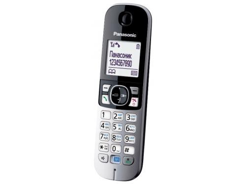 Радиотелефон Panasonic KX-TGA681RUB, вид 5