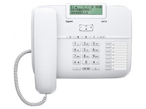 Проводной телефон Gigaset DA710, Белый, вид 1