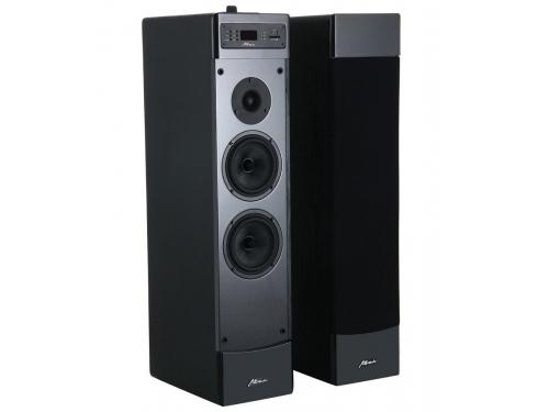 Акустическая система Attitude Uni One L (2.0, 2x50W, RCA, S/PDIF, USB, картридер, Lightning), чёрная, вид 2