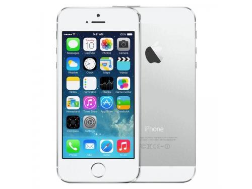 Смартфон Apple iPhone 5S 16Gb Silver, вид 3