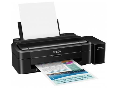 Струйный цветной принтер Epson L312 Чёрный, вид 2