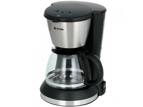 Кофеварка Кофеварка капельного типа VITEK VT 1506 BK, вид 2