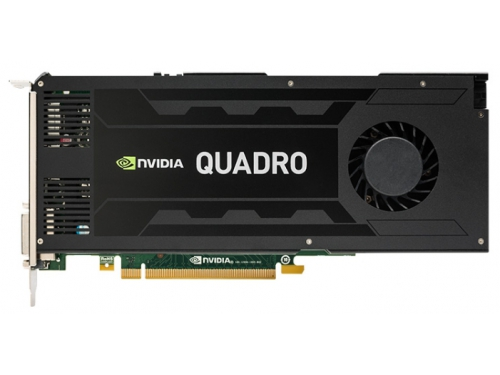 Видеокарта профессиональная PNY PCI-Ex Quadro K4200 (VCQK4200-PB) 4096MB, DDR5 DVI 2*DP, вид 2