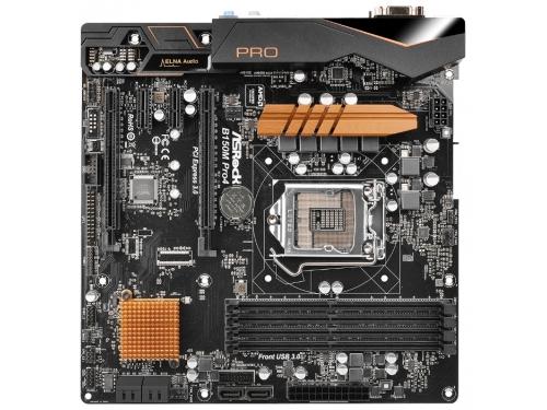 ����������� ����� ASRock B150M PRO4 Soc-1151 B150 DDR4 mATX SATA3  LAN-Gbt USB3.0 VGA/DVi/HDMI, ��� 2