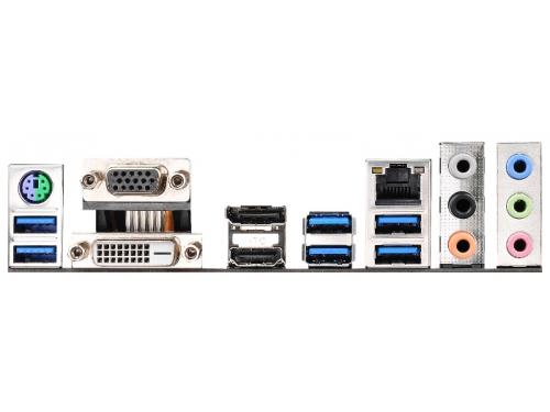 Материнская плата ASRock H170M PRO4 Soc-1151 H170 DDR4 mATX SATA3  LAN-Gbt USB3.0 VGA/DP/DVi/HDMI, вид 3