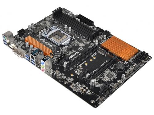����������� ����� ASRock Z170 PRO4S Soc-1151 Z170 DDR4 ATX SATA3  LAN-Gbt USB3.0 DVi/HDMI, ��� 1