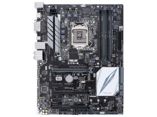����������� ����� ASUS Z170-E Soc-1151 Z170 DDR4 ATX SATA3  LAN-Gbt USB3.1 DVi/HDMI, ��� 2