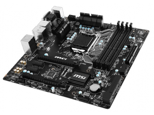 Материнская плата MSI H170M-A PRO Soc-1151 H170 DDR4 mATX SATA3  LAN-Gbt USB3.0 DVi/VGA/HDMI, вид 1
