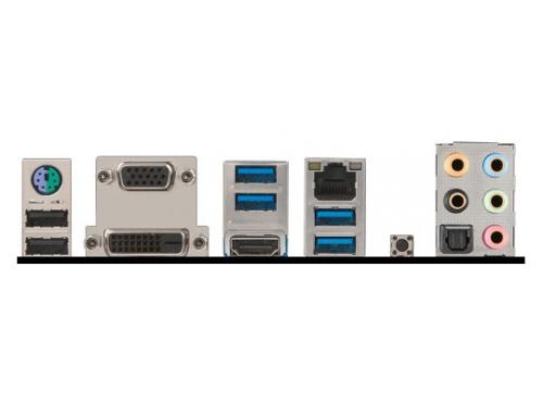 Материнская плата MSI H170M-A PRO Soc-1151 H170 DDR4 mATX SATA3  LAN-Gbt USB3.0 DVi/VGA/HDMI, вид 3