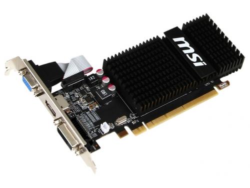 ���������� Radeon MSI PCI-E ATI R5 230 2GD3H LP R5 230 2048Mb 64bit DDR3 HDMI+DVI-I RTL, ��� 1