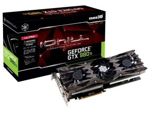 ���������� GeForce INNOVISION PCI-E NV iCHILL GTX980Ti X3 Ultra 6GB DDR5 384bit DVI/HDMI/DP C98T3-1SDN-N5HNX, ��� 1