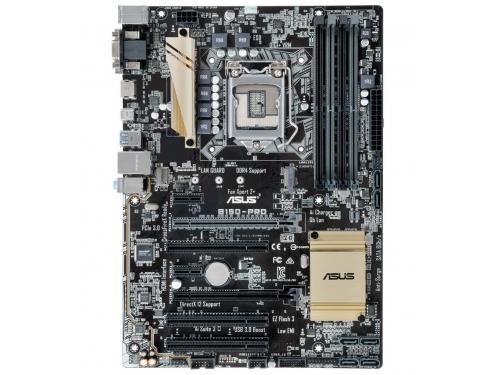 ����������� ����� ASUS B150-PRO (ATX, LGA1151, Intel B150, 4x DDR4), ��� 1