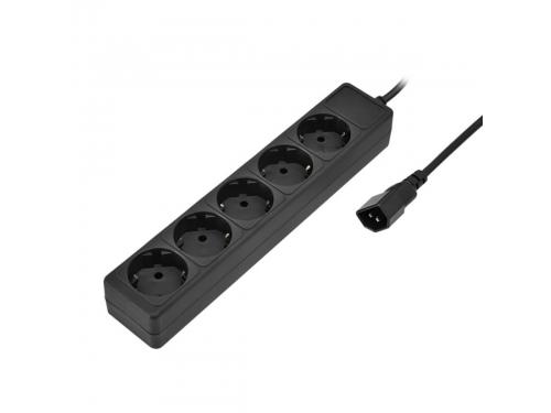 Сетевой фильтр Sven Special Base 1,8m Black, вид 1