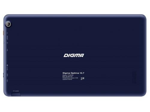 Планшет Digma Optima 10.7, 8GB, тёмно-синий, вид 2