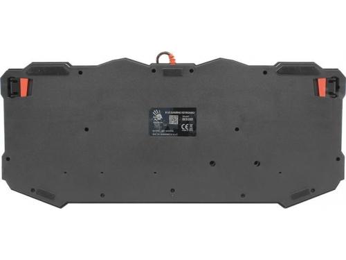 Клавиатура A4tech Bloody B328 (USB), чёрная, вид 5