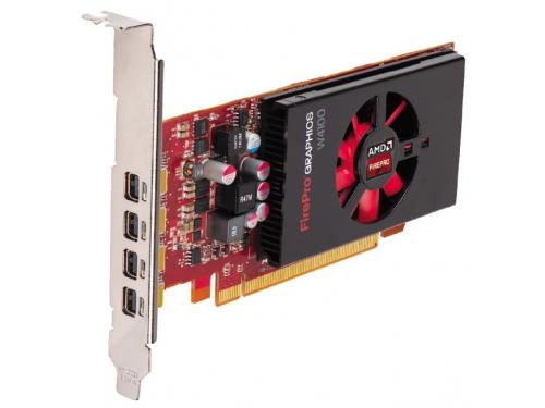 Видеокарта профессиональная AMD FirePro W4100 PCI-E 3.0 2048Mb 128 bit (100-505817), вид 3