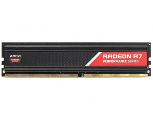 Модуль памяти AMD R744G2606U1S (DDR4 DIMM, 4Gb, 2666MHz, CL16), вид 1