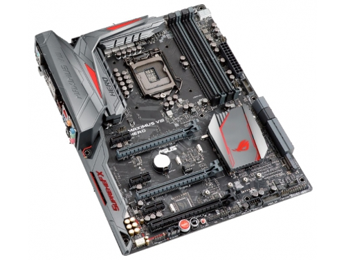 ����������� ����� ASUS MAXIMUS VIII HERO Soc-1151 Z170 DDR4 ATX SATA3  LAN-Gbt USB3.0 DP/HDMI, ��� 1