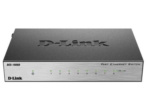���������� (switch) D-Link DES-1008D/L2B, ��� 1