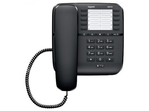 Проводной телефон Gigaset DA510 Чёрный, вид 1