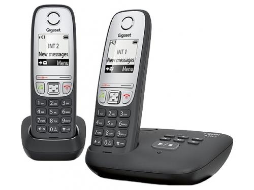 Радиотелефон Gigaset A415 AM DUO Чёрный, вид 1