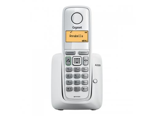 Радиотелефон Gigaset A220, Белый, вид 1