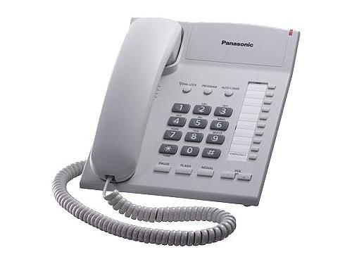 Проводной телефон Panasonic KX-TS2382RUW, Белый, вид 1