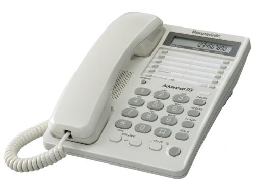 Проводной телефон Panasonic KX-TS2362RUW, Белый, вид 1