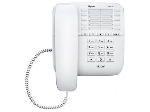 Проводной телефон Gigaset DA510, Белый, вид 1