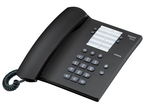Проводной телефон Gigaset DA100, Антрацит, вид 1