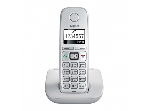 Радиотелефон Gigaset E310, серый, вид 1
