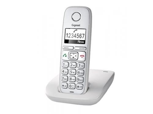 Радиотелефон Gigaset E310, серый, вид 2