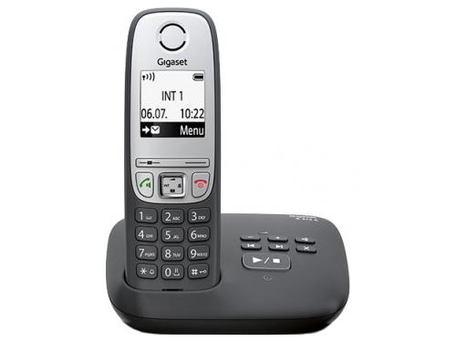 Радиотелефон Gigaset A415 AM Чёрный, вид 1