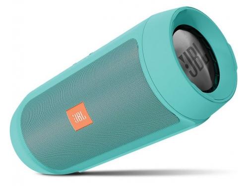 Портативная акустика JBL  Charge II Plus, бирюзовый, вид 2