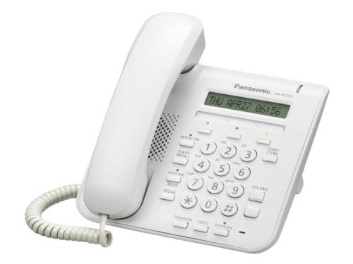 Проводной телефон Panasonic KX-NT511PRUW белый, вид 1