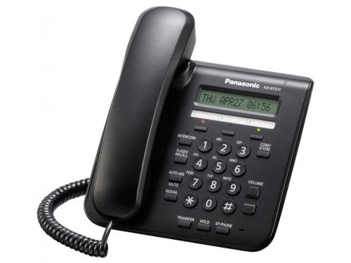 Проводной телефон IP Panasonic KX-NT511ARUB, вид 1