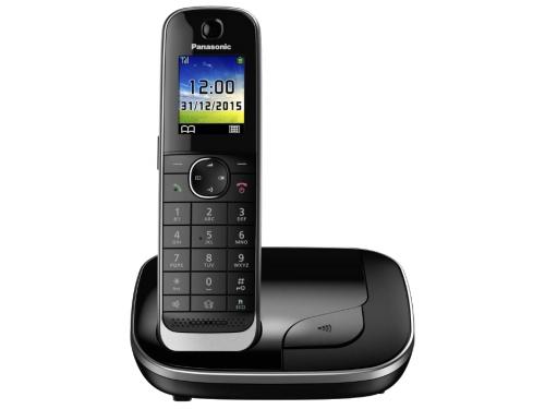 Радиотелефон Panasonic KX-TGJ310RUB чёрный, вид 1