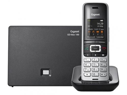 Радиотелефон IP Gigaset S850A GO серебристый, вид 2