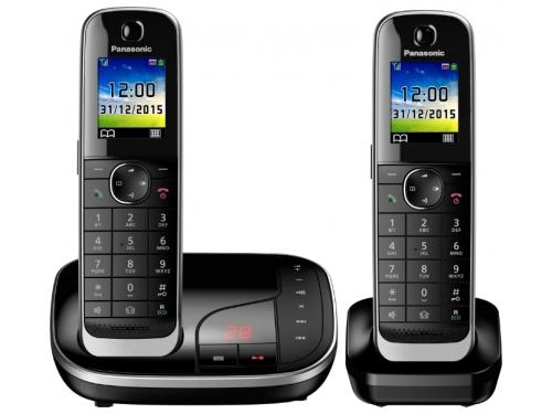 Радиотелефон Panasonic KX-TGJ322RUB чёрный, вид 1