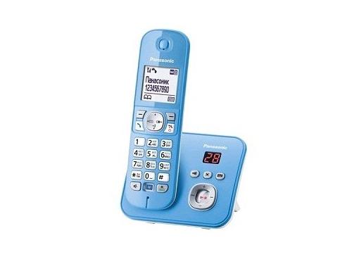 Радиотелефон DECT Panasonic KX-TG6821RUF голубой, вид 1