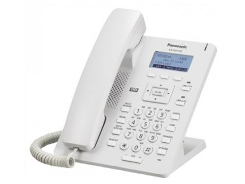 Проводной телефон Panasonic KX-HDV130RU белый, вид 1