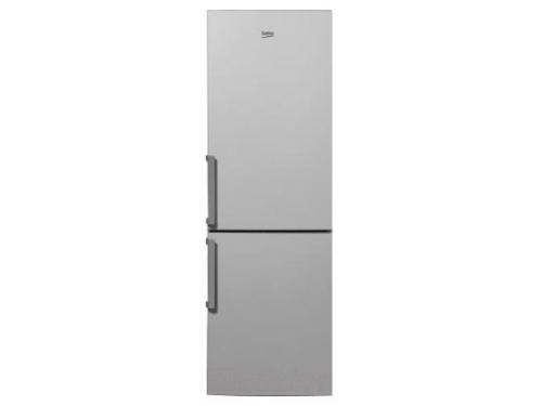 Холодильник Beko RCNK321K21S, серебристый, вид 1
