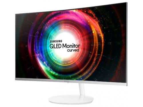 Монитор Samsung C32H711QEI, белый, вид 2